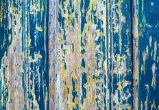 木困厄的纹理或背景/绘了背景老 免版税库存照片