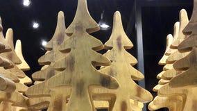 木圣诞树 免版税库存图片