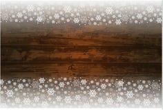 木圣诞节背景 库存图片