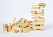 木块,经典比赛 库存照片
