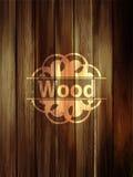 木垂直的板条背景 现实黑暗的木纹理 v 向量例证