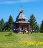 木城楼在Khokhlovka 图库摄影