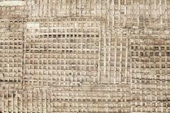 木基本类型老概要的墙壁 免版税库存照片