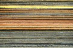 木堆的板条 免版税库存图片