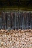 木堆,室外木柴堆 图库摄影