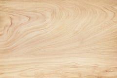 木墙壁纹理背景,在水平的浅褐色的自然波动图式摘要 免版税库存照片