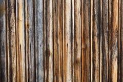 木墙壁褐色背景 库存照片