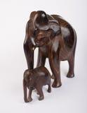 木大象 免版税图库摄影
