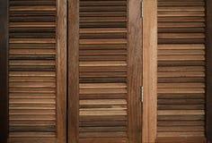 木天窗门老情况经典之作样式 库存图片