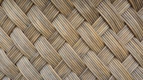 木头柳条纹理  免版税库存图片
