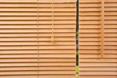 木头的接近的百叶窗 免版税库存照片