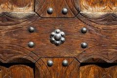 木头纹理与一个自然样式的 免版税库存照片