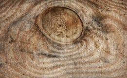 木头纹理或背景与一个自然样式的 免版税库存照片