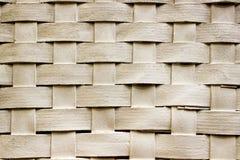 木头织法的纹理 库存照片
