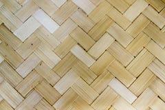 木头织法的纹理 免版税库存图片