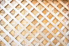 木头编织的纹理背景 木的被削减的直线打开 免版税库存图片