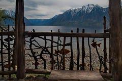 木头阿尔泰大师的创造性  免版税图库摄影