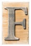 木字母表 免版税图库摄影