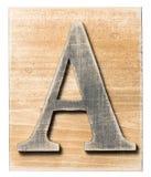 木字母表 库存图片