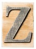 木字母表 图库摄影