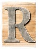 木字母表 免版税库存照片