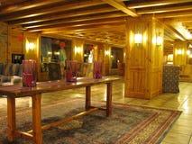 木室内光的豪华 库存图片