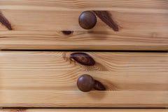 木家具抽屉 免版税库存图片