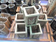 木容器 库存照片