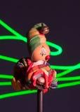 木小丑 免版税库存图片