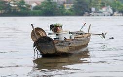 木小船老河的saigon 图库摄影
