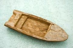 木小船老的玩具 库存照片