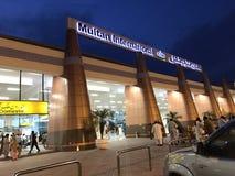 木尔坦机场  免版税库存照片