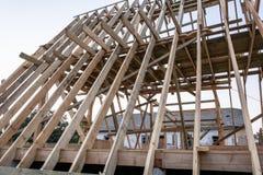 木屋的建筑 库存图片