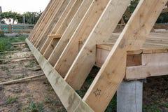 木屋的建筑 图库摄影