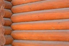 木屋的背景 免版税库存照片