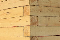 木屋角度  免版税库存图片