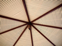 木屋顶天花板样式 库存图片