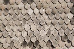 木屋顶的纹理 库存照片