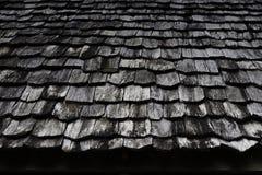 木屋顶 免版税图库摄影