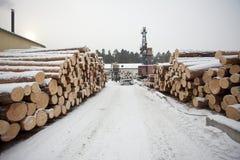 木工厂 免版税库存照片