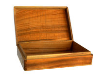 木工艺手工制造小箱 库存图片