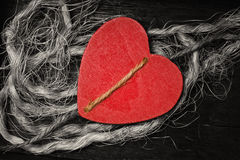 木心脏装饰背景 日重点例证查出爱言情s华伦泰白色 图库摄影