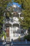 木房子在基韦斯特岛 免版税库存图片