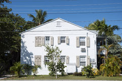 木房子在基韦斯特岛 库存图片
