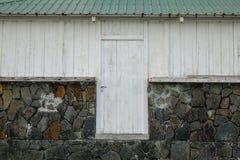 木房子在毛里求斯 免版税图库摄影