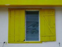 木房子在毛里求斯 库存照片