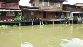 木房子时间间隔沿着chanel,曼谷泰国的 影视素材