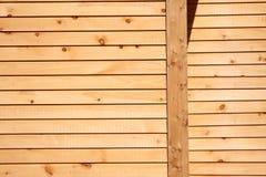 木房屋板壁 免版税图库摄影