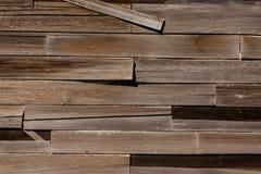 木房屋板壁 免版税库存图片