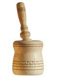 木手持式灰浆的杵 库存图片